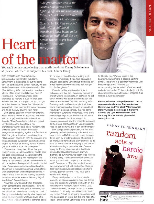 BOOKS-Random-Acts-of-Heroic-Love-Angel-Magazine-Article
